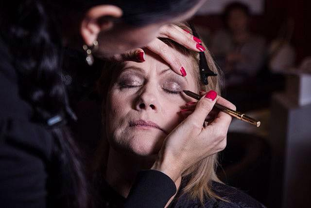 proměna, líčení a make up na focení